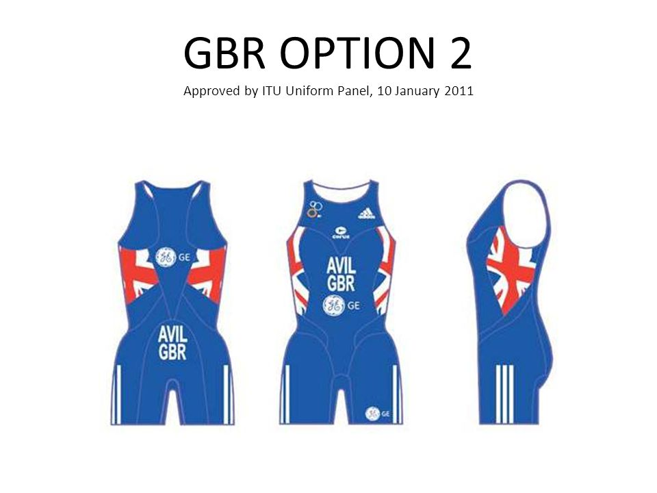 GBR OPTION 2 Approved by ITU Uniform Panel, 10 January 2011