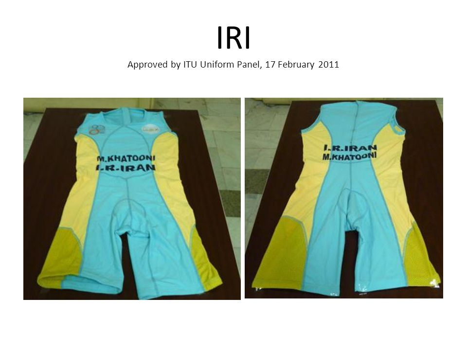 IRI Approved by ITU Uniform Panel, 17 February 2011