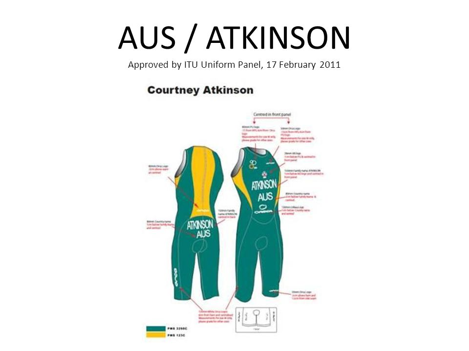 AUS / ATKINSON Approved by ITU Uniform Panel, 17 February 2011