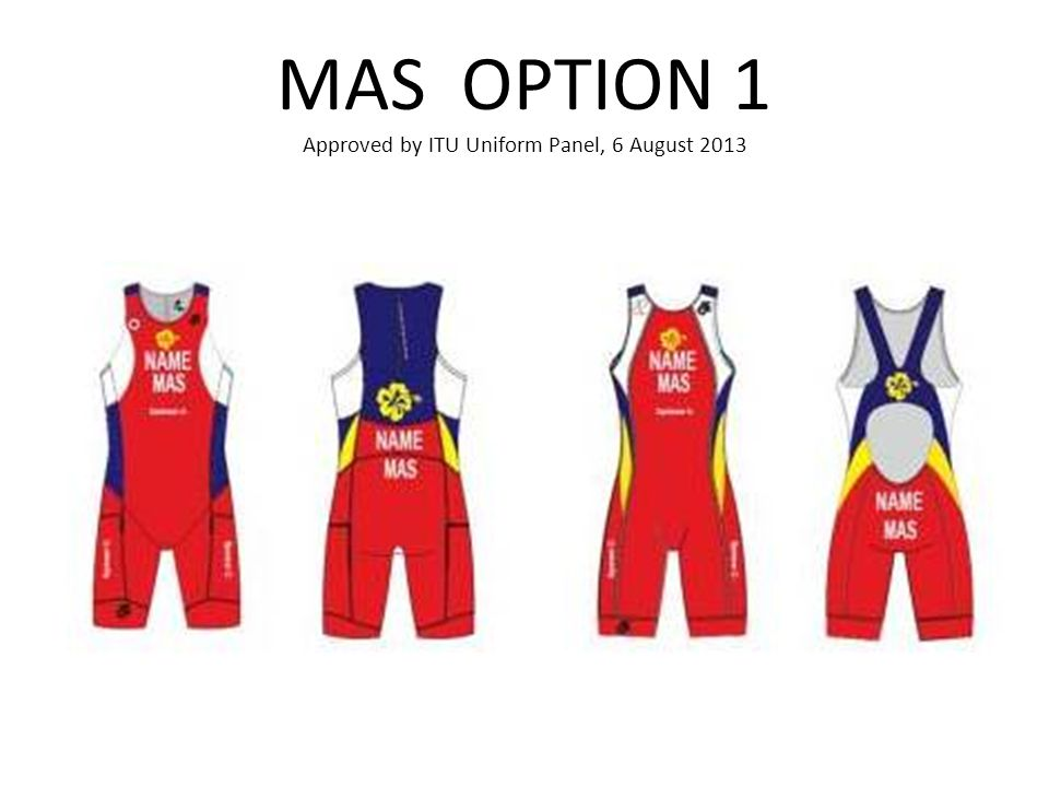 MAS OPTION 1 Approved by ITU Uniform Panel, 6 August 2013