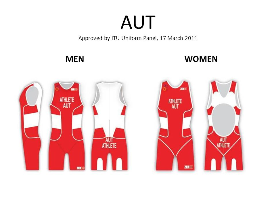 AUT Approved by ITU Uniform Panel, 17 March 2011 MENWOMEN