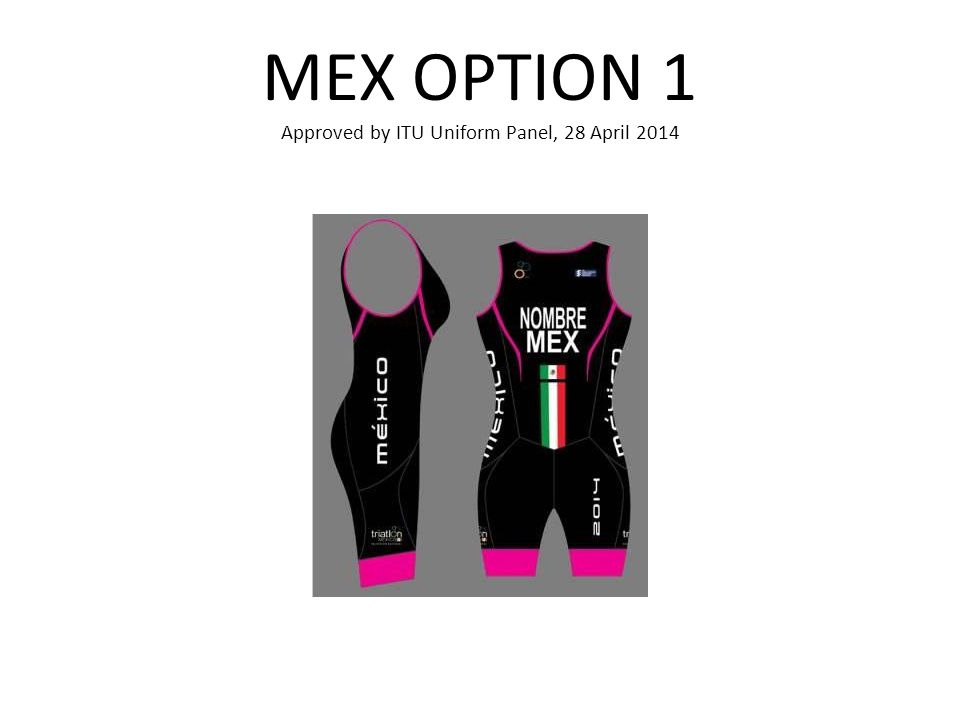 MEX OPTION 1 Approved by ITU Uniform Panel, 28 April 2014