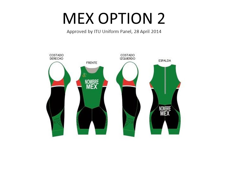 MEX OPTION 2 Approved by ITU Uniform Panel, 28 April 2014