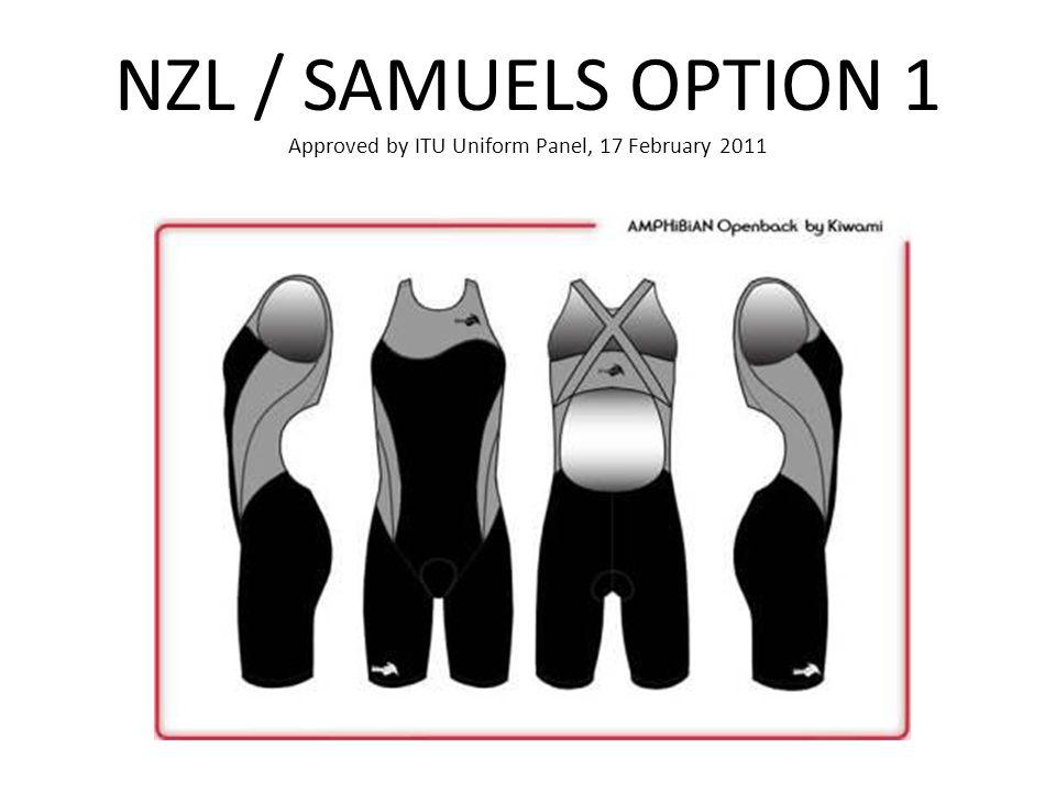 NZL / SAMUELS OPTION 1 Approved by ITU Uniform Panel, 17 February 2011