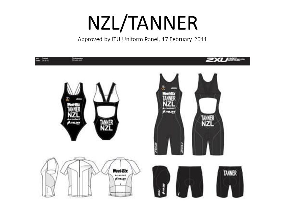 NZL/TANNER Approved by ITU Uniform Panel, 17 February 2011