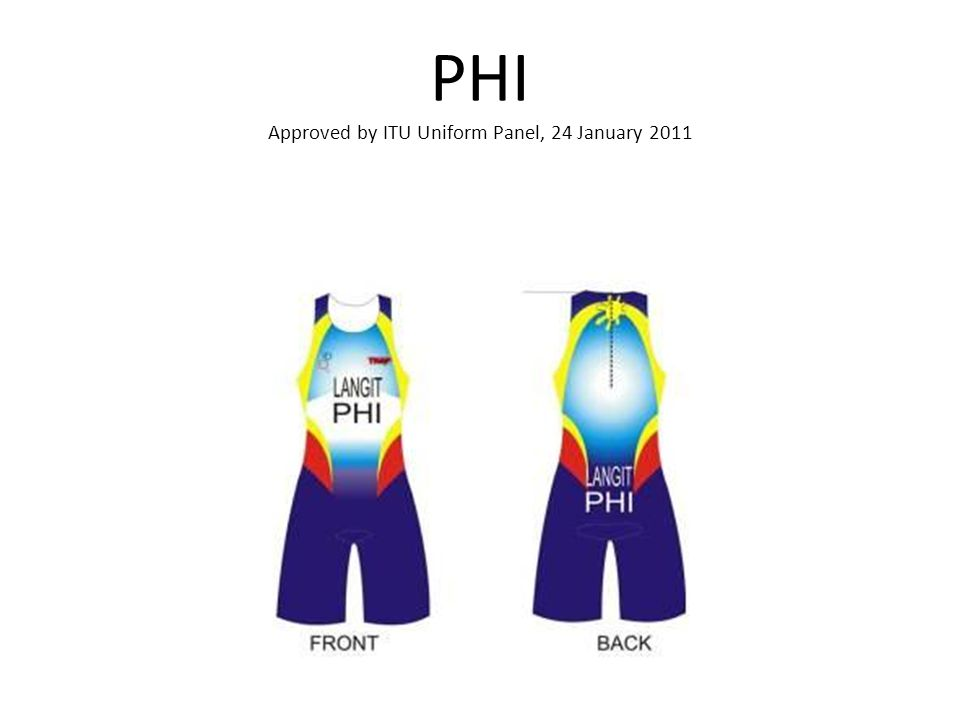 PHI Approved by ITU Uniform Panel, 24 January 2011