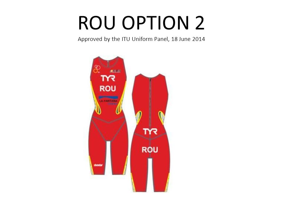 ROU OPTION 2 Approved by the ITU Uniform Panel, 18 June 2014