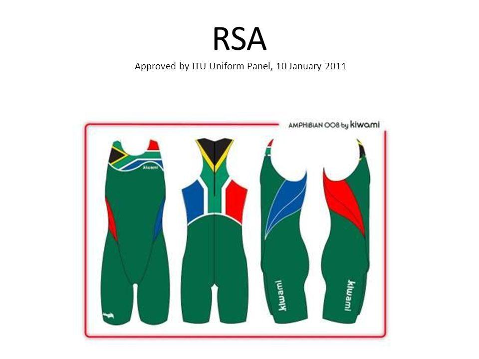 RSA Approved by ITU Uniform Panel, 10 January 2011