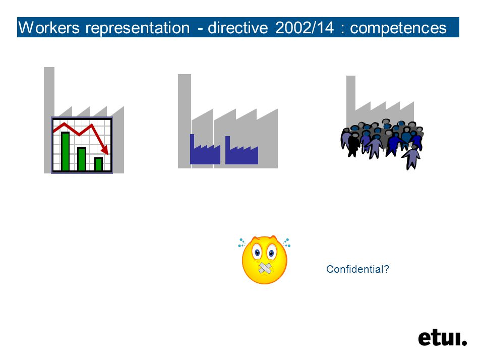 Workers representation - directive 2002/14 : competences Confidential?