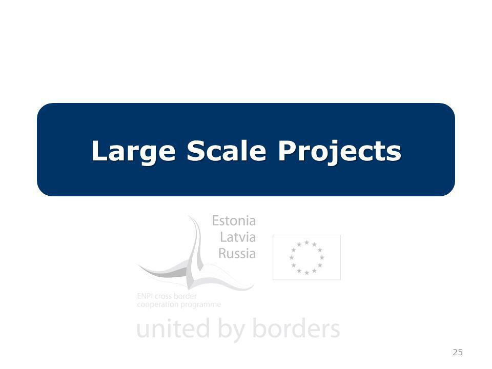 25 Large Scale Projects