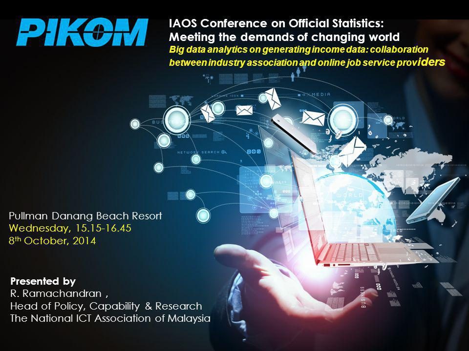 THE NATIONAL ICT ASSOCIATION OF MALAYSIA Presented by R.