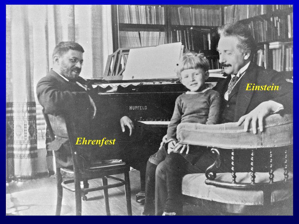 Ehrenfest Einstein