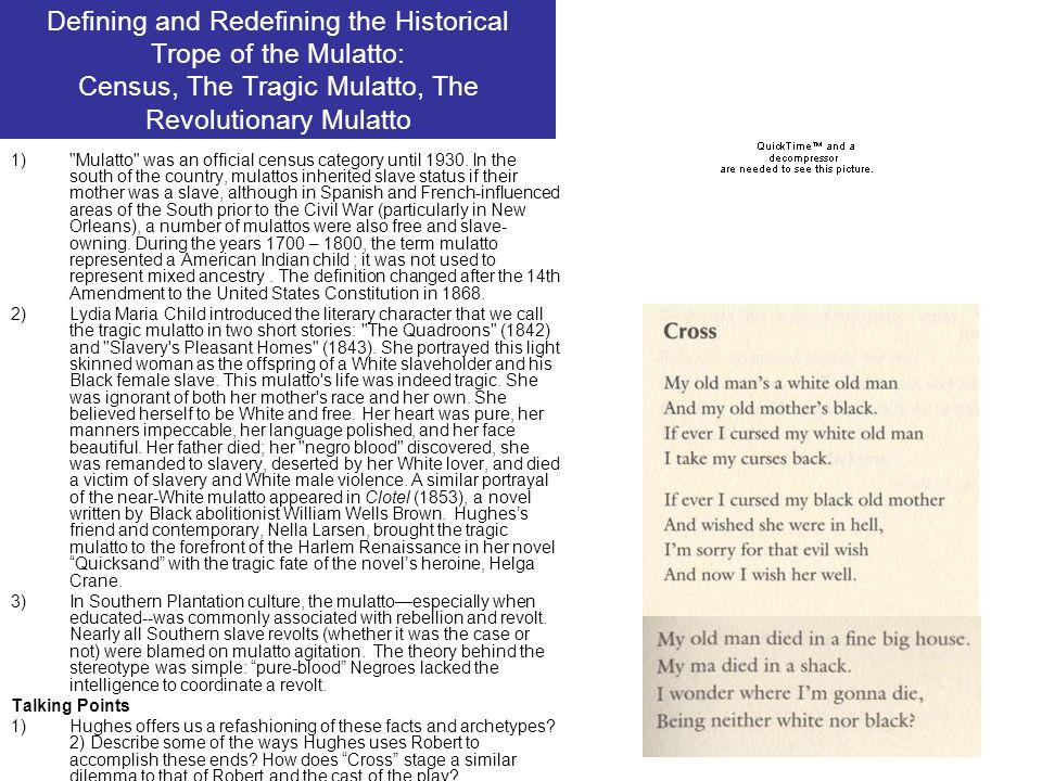 Defining and Redefining the Historical Trope of the Mulatto: Census, The Tragic Mulatto, The Revolutionary Mulatto 1)