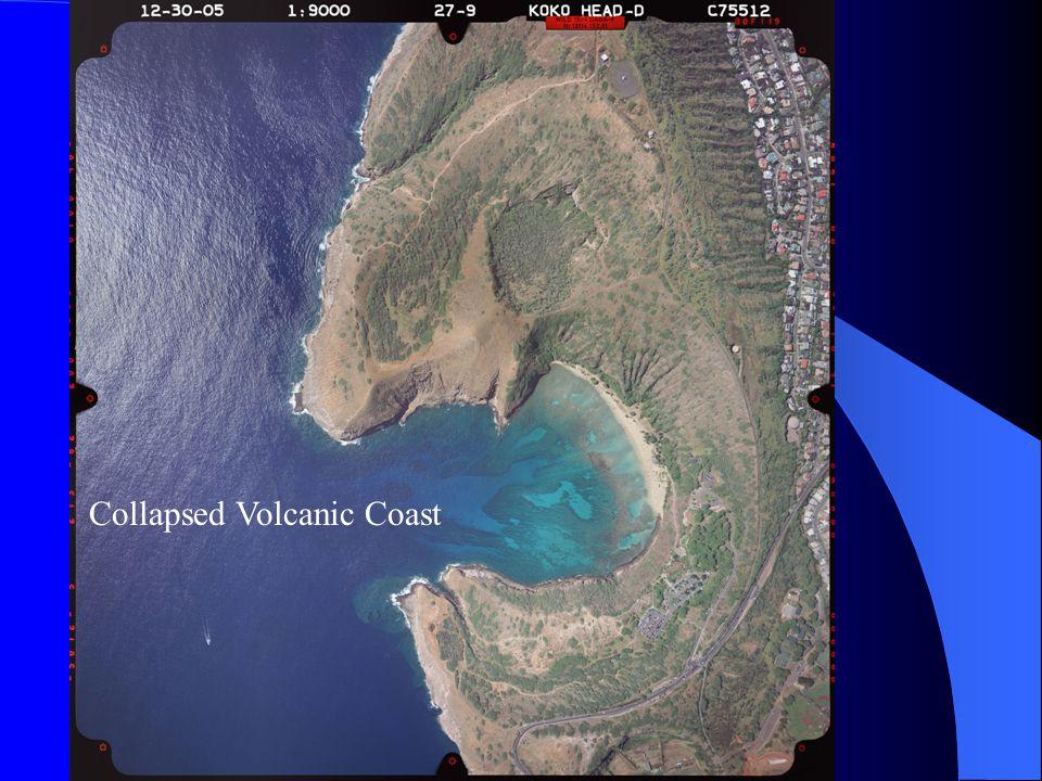 Collapsed Volcanic Coast
