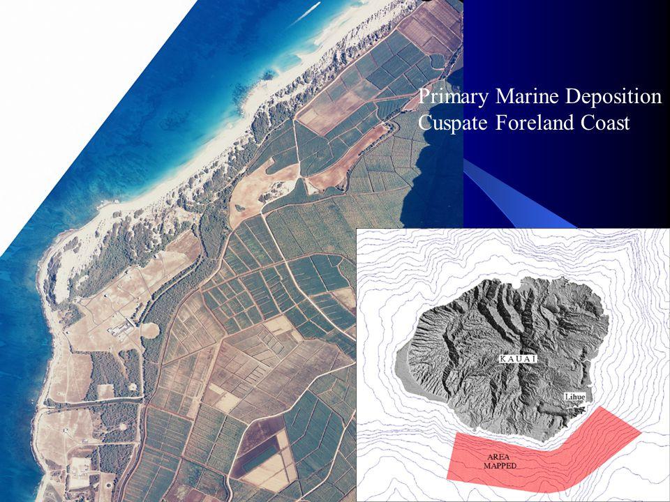 Primary Marine Deposition Cuspate Foreland Coast