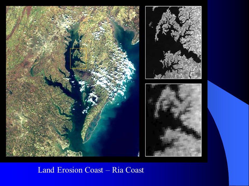 Land Erosion Coast – Ria Coast