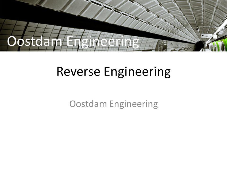 Reverse Engineering Oostdam Engineering