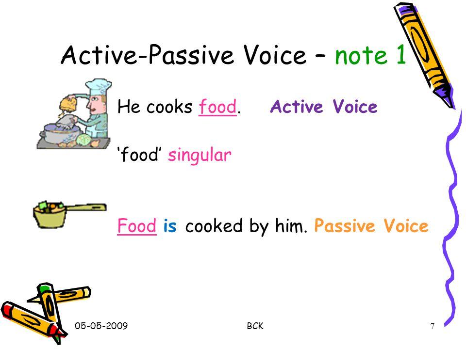 ACTIVE INTO PASSIVE 17
