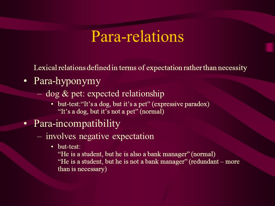 Pseudo-relations angle & side –logical equivalence but state different things