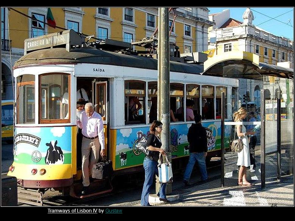 lisbon tram by fiedziufiedziu Tramways of Lisbon by KoyoteKoyote 45