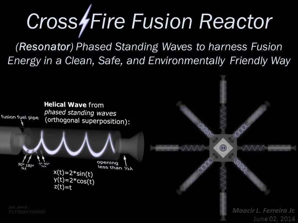 Cross Fire Fusion Reactor Moacir L. Ferreira Jr. June 02, 2014 pat.