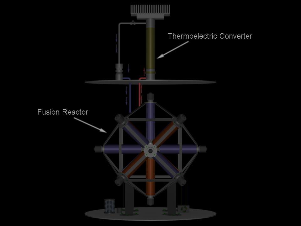 Blender 3D - Trees (credit: Yorik) Thermoelectric Converter Fusion Reactor