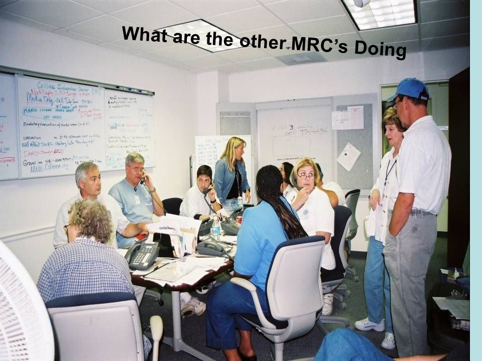What are the other MRC's Doing