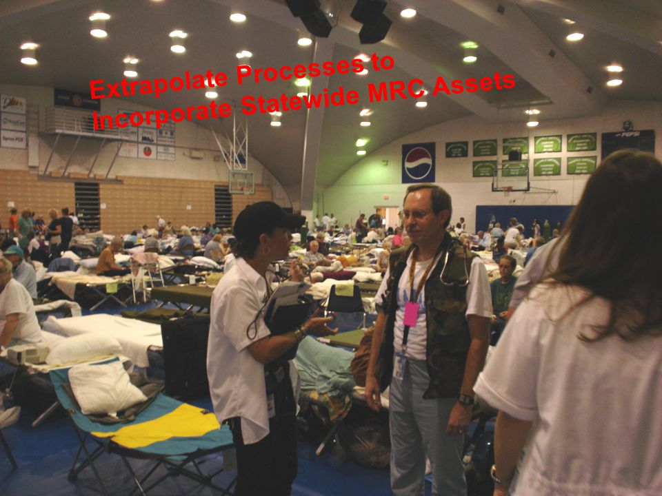 Florida Hospital Association/DOH Charge Emergency Systems for Advanced Registration of Volunteer Health Professionals (ESAR-VHP)