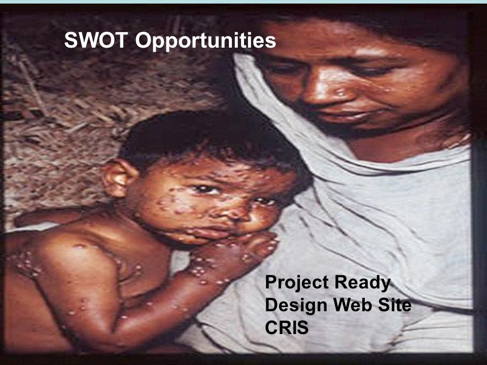 Project Ready Design Web Site CRIS SWOT Opportunities
