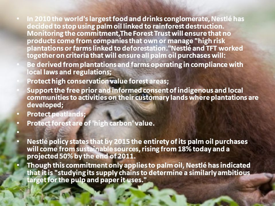 Greenpeace said McDonald s Corp.