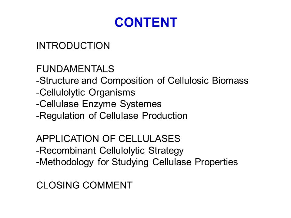 APPLICATION OF CELLULASES