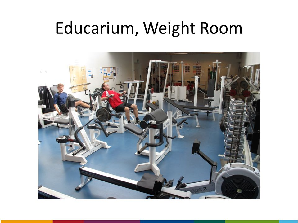 Educarium, Weight Room