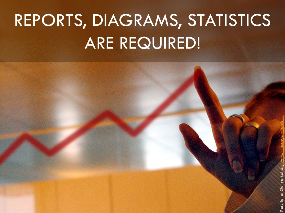 REPORTS, DIAGRAMS, STATISTICS ARE REQUIRED.