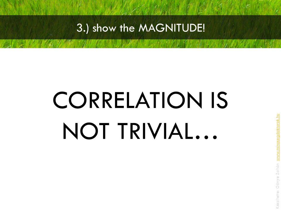 3.) show the MAGNITUDE.