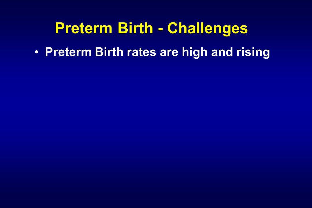 Preterm Birth Network - Successes 1.March of Dimes Research Agenda published 2.
