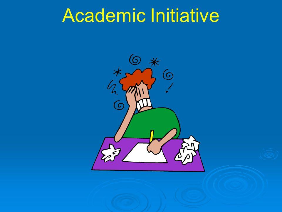 Academic Initiative