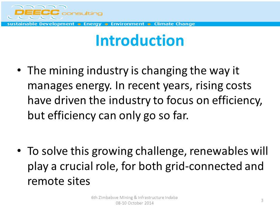 How does it work? 6th Zimbabwe Mining & Infrastructure Indaba 08-10 October 2014 14