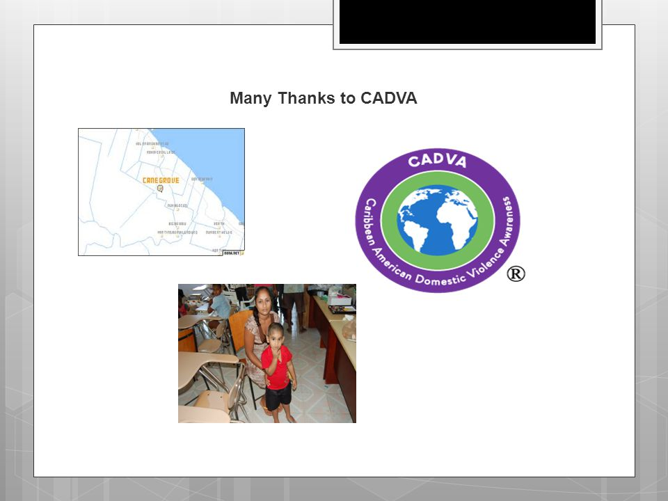 Many Thanks to CADVA