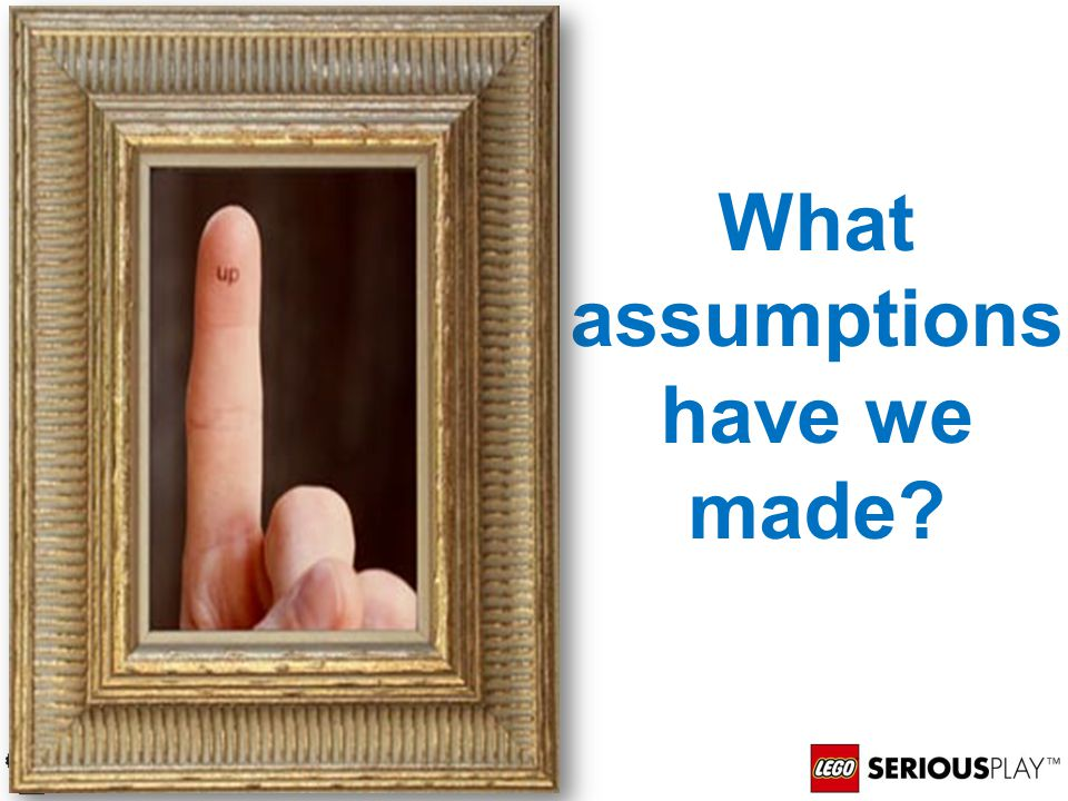 What assumptions have we made