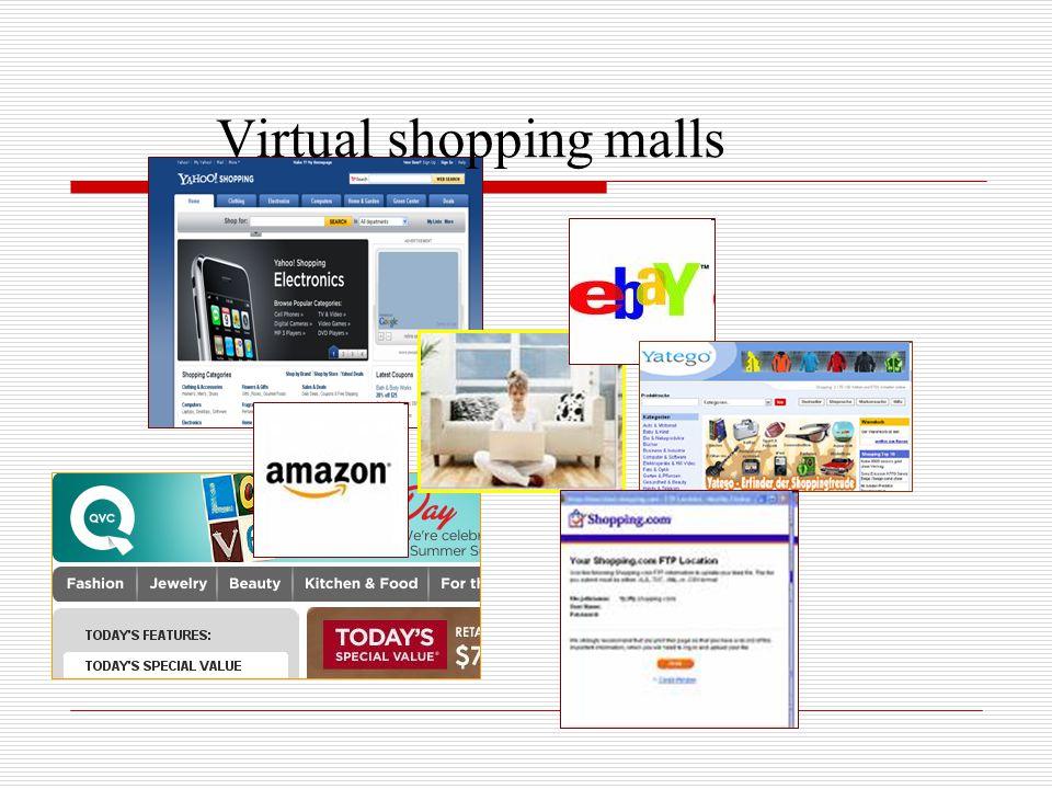 Virtual shopping malls