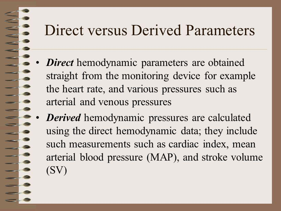 Normal Pressures When a catheter is passed through the venous system into the heart and pulmonary artery, certain pressure readings and wave forms are measurable During each individual section to follow, we will be looking at normal waveforms displayed depending on type of hemodynamic monitoring being used eg.