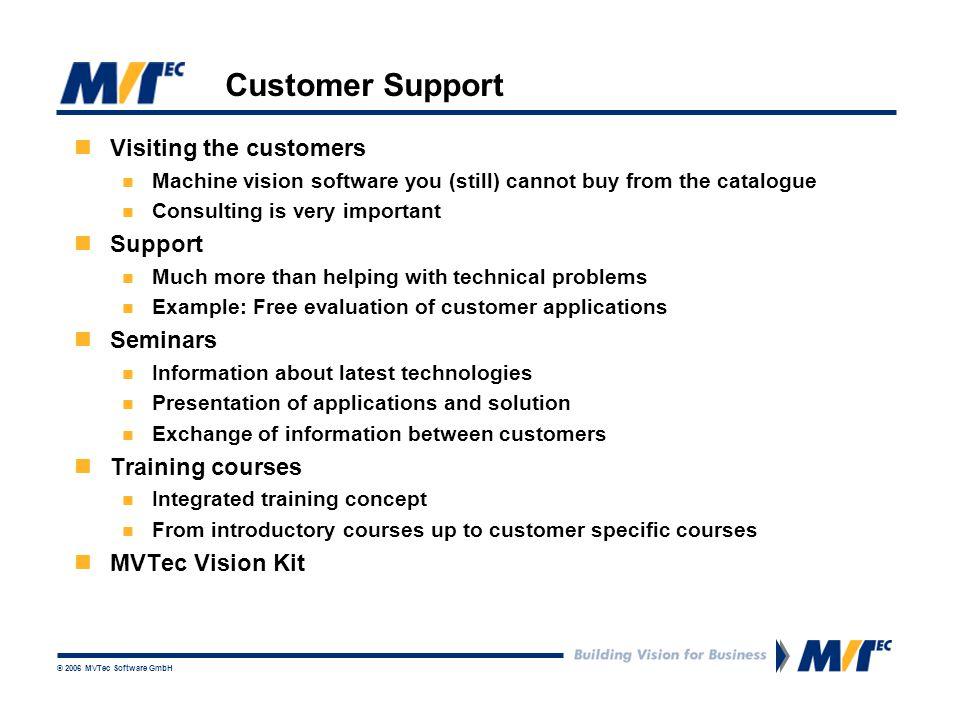 © 2006 MVTec Software GmbH What is MVTec Vision Kit.