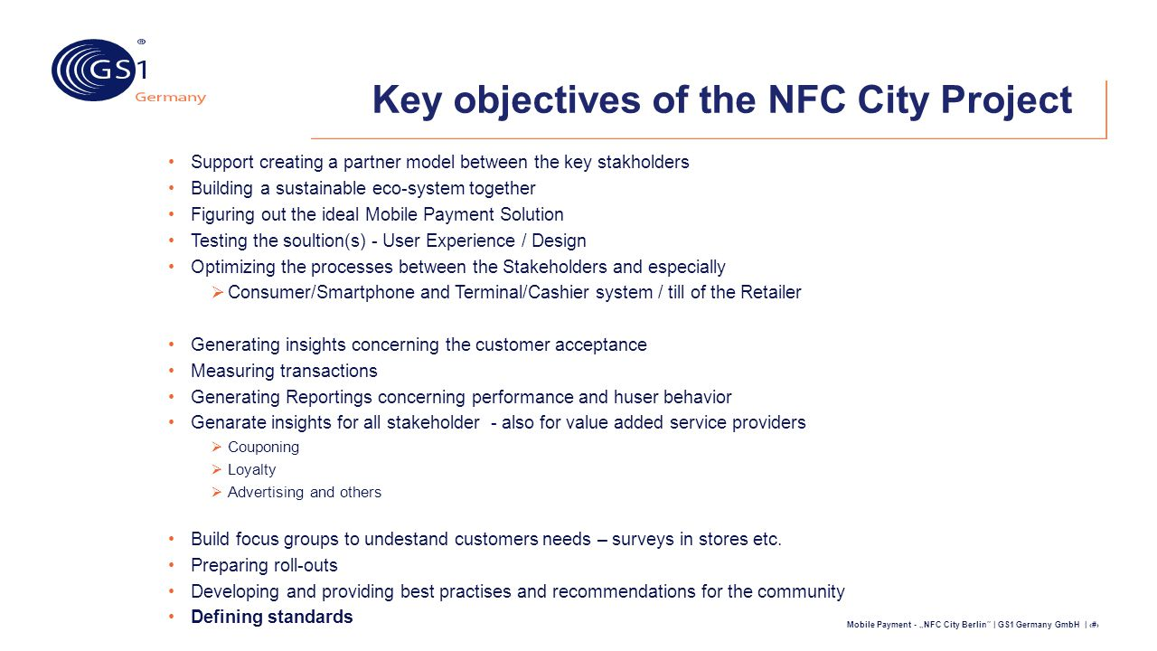 """Mobile Payment - """"NFC City Berlin"""" 