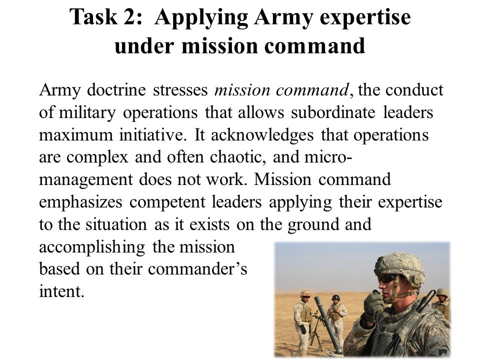 The Army certifies its members to ensure they meet expectations for military expertise.