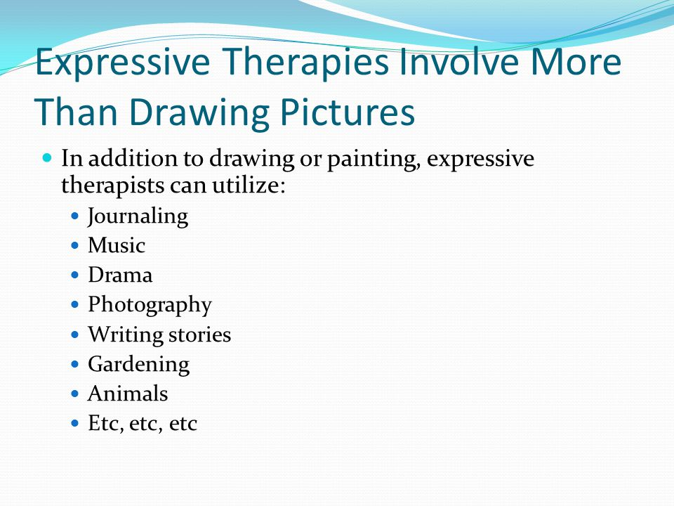 Life As An Art Therapist in a Public School Setting Rural eastern Oregon School district of about 4000 students Employed as a behavior specialist in the Special Education Department to work at four elementary schools Designed and implemented the ABLE (Assisted Behavior Learning Environment) Program