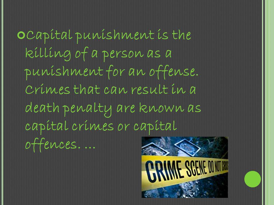SHOULD THE DEATH PENALTY BE ABOLISHED? By: Breyona Coleman Advanced English 12