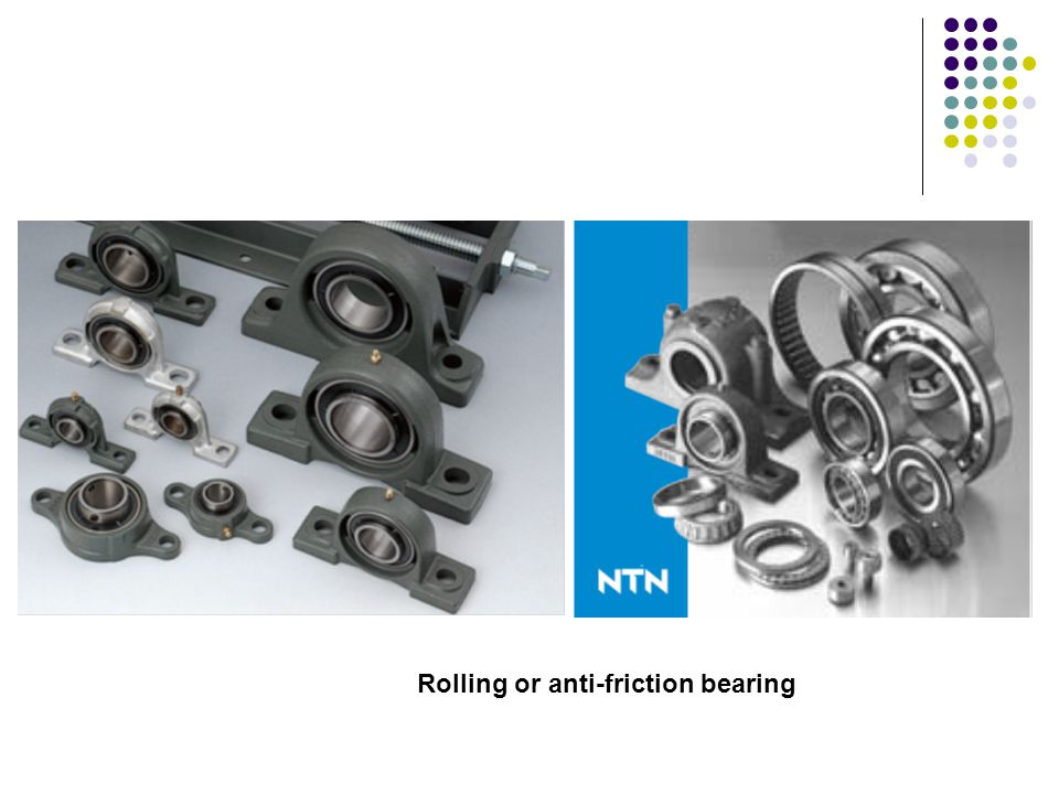 Rolling or anti-friction bearing