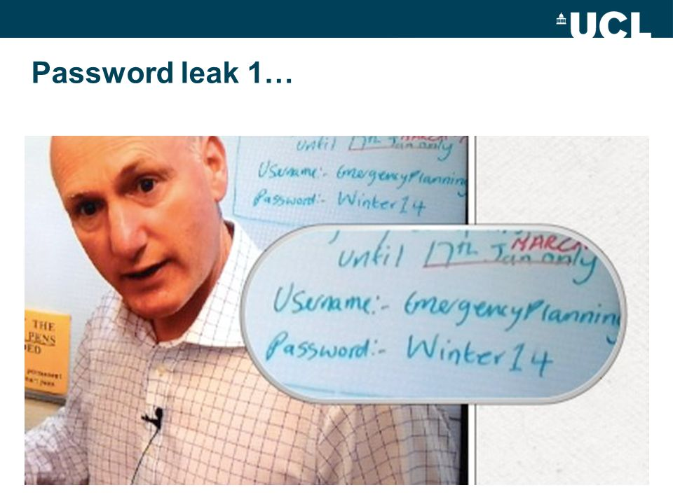 Password leak 1…