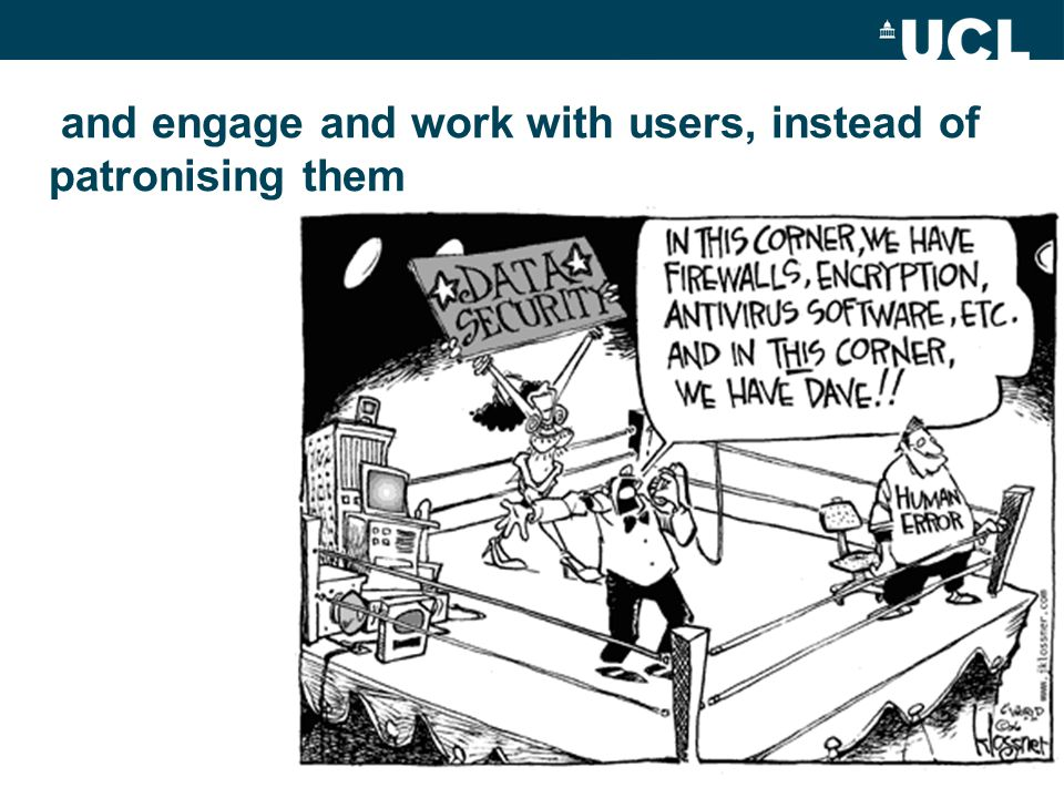 PAS and engage and work with users, instead of patronising them