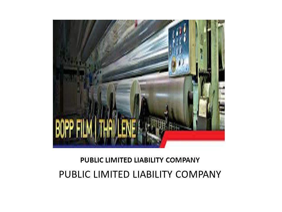 PUBLIC LIMITED LIABILITY COMPANY